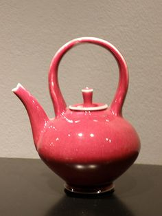 Red Teapot by Jim Connell