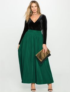 View our Taffeta Ball Gown Maxi Skirt and shop our selection of designer women's plus size Skirts, clothing and fashionable accessories. Plus Size Gowns Formal, Plus Size Long Dresses, Plus Size Skirts, Special Dresses, Special Occasion Dresses, Maxi Skirt Formal, Houndstooth Dress, Womens Maxi Skirts, Pretty Outfits