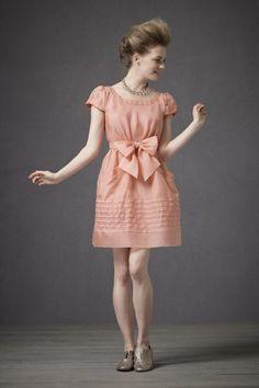 Miraflores Dress $310 #BHLDN #dress #event #occasion #coral