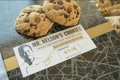 Chocolate chip cookies made with 100% natural ingredients, right here in Arizona. Gluten-free options available, too! Can you say awesome? Check out Mr. Nelson's Cookies & #BuyLocal https://greenlivingaz.com/cool-outrageous-stuff-march-2017/?utm_campaign=.&utm_medium=.&utm_source=pinterest
