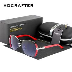HDCRAFTER  Brand New Lady's sunglasses  Oval  Female Oculos  Luxury Outdoor Goggles Eyewear Accessories For Women