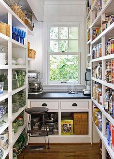 Perfect Butler's Pantry!