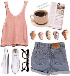 outfit ideas with sneakers | 15 Comfortable Summer Outfit Ideas with Flat Shoes