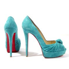 Christian Louboutin oh please!! i want these for the wedding