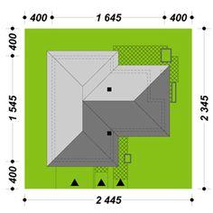 DOM.PL™ - Projekt domu ATK TK133 CE - DOM AK1-66 - gotowy koszt budowy Affordable House Plans, Malm, Dream House Plans, Architecture Design, House Design, How To Plan, Small Houses, Vacation, Ideas