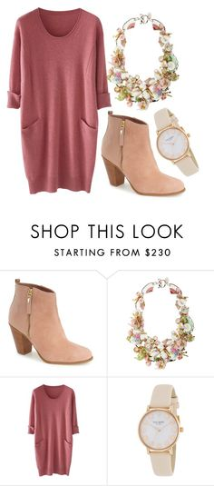 """""""Untitled #214"""" by kenzie-raye13 on Polyvore featuring Klub Nico, Disney Couture, Wrap and Kate Spade"""