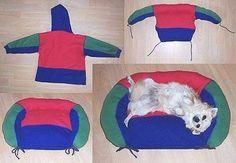 DIY Pelechy pre psa