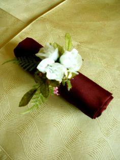 napking holder wedding favour