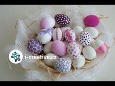 Tipy a návody, jak ozdobit velikonoční vajíčka - YouTube