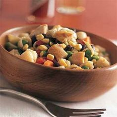 Pasta Salads Under 300 Calories | Chicken-Pasta Salad  | MyRecipes.com
