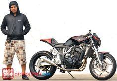 Kawasaki Ninja 250R Cafe Fighter