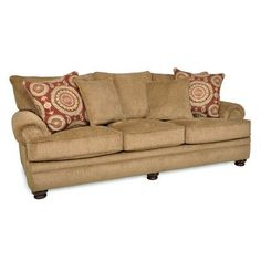 Alcott Hill Westerville Twill Sofa Upholstery: Chocolate