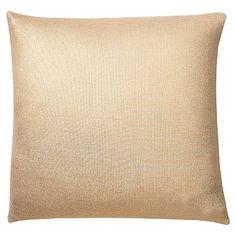 The Emily + Meritt Liquid Gold Euro Pillow Cover #pbteen