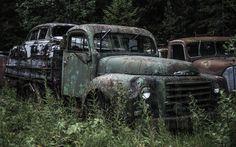 Vintage Volvo truck. Sweden