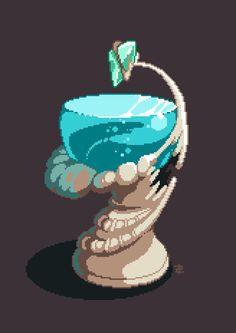 FF crystal chronicles. Pixel Art Gif, Cool Pixel Art, Pixel Art Games, Cool Art, Really Cool Drawings, Pix Art, Pixel Characters, 8 Bits, Industrial Design Sketch