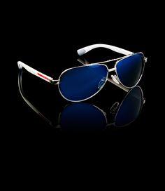 532814ffd91 Prada E-Store · Man · Sunglasses · Linea Rossa Eyewear SPS51N E1BC F09P1  Prada Sunglasses 2014