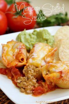 High Heels & Grills: Mexican Stuffed Shells