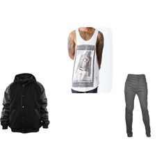 """Religion Vest 3"" by designer-top-2-bottom on Polyvore"