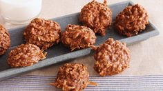 These easy no-bake cookies, featuring oatmeal, cocoa and coconut, are perfect to add to your Thanksgiving dessert spread.