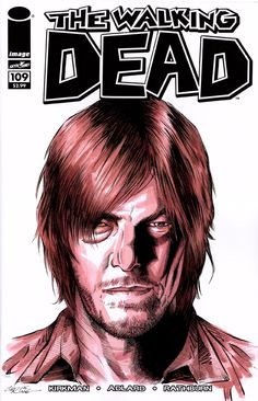 Daryl Dixon - The Walking Dead - sketch cover - Chris Ring