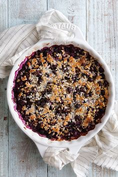 Blueberry Baked Oatmeal (recipe) / by Bakers Royale