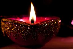 Deepawali Diya :   Keep your flame lit, and you will never feel darkness..!!