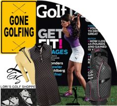 Super chic golf look for your outfit inspiration! Only at lorisgolfshoppe.polyvore.com #golf #polyvore #ootd #lorisgolfshoppe