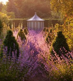 [Rose Garden: photograph by Clive Nichols]   ... follow this web link;  the gardens are stellar!!