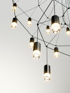 Wireflow Chandelier by Vibia