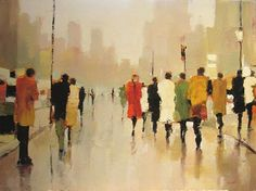 """Contemporary Art - Lorraine Christie """"You, At Last"""" Painting People, Figure Painting, Art Des Gens, Picasso Paintings, People Art, Figurative Art, Amazing Art, Modern Art, Contemporary Art Paintings"""
