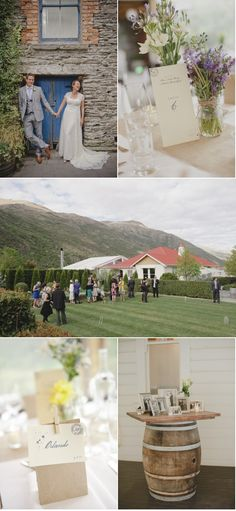 I love everything about this beautiful, simple New Zealand wedding
