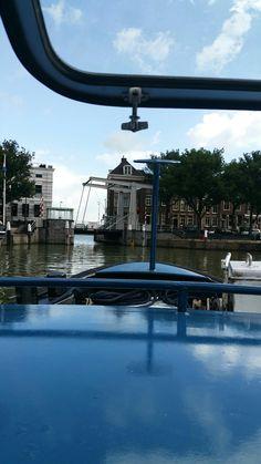 Met de Foksdiep in Dordrecht