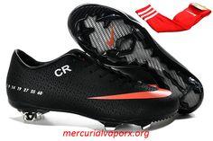 Nike Mercurial Vapor IX CR FG Cleats 2013 - Black Orange