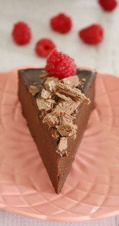 Super Easy Flourless Chocolate Cake with Chocolate Ganache
