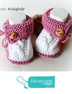 Babyschuhe Tracht gestrickt https://www.amazon.de/dp/B072HRX3DP/ref=hnd_sw_r_pi_dp_vSTdzbGC1XXGG #handmadeatamazon