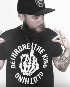 RESTOCKED  DETHRONE THIS - BLACK Available now at dethronetheking.com   dethronetheking  clothing 100af54cdd4d