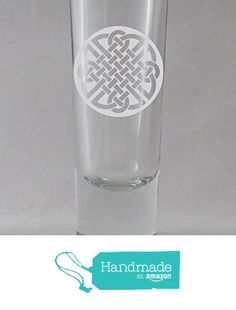 Celtic Round Knot 20 2 oz. Engraved Etched Sandblasted Shot Glass from Algrium Engraving & Jewelry http://www.amazon.com/dp/B015V2O50M/ref=hnd_sw_r_pi_dp_0alzwb1ESXRD4 #handmadeatamazon