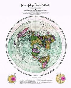 Flat Earth Map : New Map of the World : circa 1899 : Christopher & Gleason for sale online Earth World Map, Family Tree Picture Frames, Flat Earth Proof, Cool Stuff For Sale, Word Poster, Book Display Shelf, Art Prints For Sale, Affordable Art, Map Art