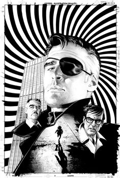 The Pulse #7 - Nick Fury by Mike Mayhew *