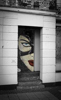 Catwoman. #street art #urban art #graffiti