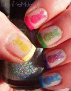 Ditch the Mittens: Easter #nail #nails #nailart