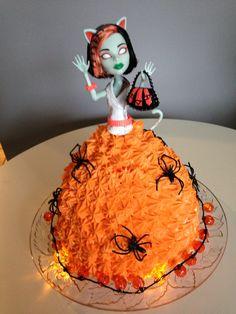 Halloween cake for grandaughter Eleanor
