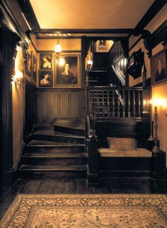 gntstyle:   Practical Magic Staircase by Roman and Williams Buildings and Interiors  Real gentlemen lifestyle? Follow Http://gntstyle.net https://www.facebook.com/pages/G-nT-Style/381502121909051