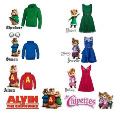 """""""Alvin & The Chipmunks / The Chipettes"""" by wonderland-junkie ❤ liked on Polyvore featuring Corinne McCormack, ZeroUV, Dorothy Perkins, Yumi, Boohoo, Bajo and Under Armour"""