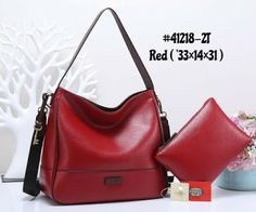 Fashion Lakers Hobo Bag Set 41218-2. Tas Kulit ... 97b6d6b9be