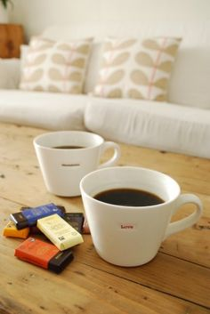 Keith Brymer Jones | word range bucket mugs