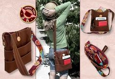 super cute tutorial purse with plenty of pockets for the fall :)    There are more tutorials for cute purses on this site :)