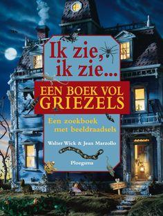 Ik zie, ik zie een boek vol griezels (Boek) door Jean Marzollo | Literatuurplein.nl I Spy Books, Creative Kids, Childrens Books, Halloween, School, Projects, Monsters, Deco, Spinning