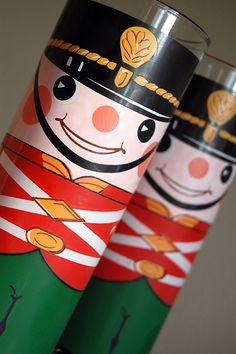1960s Toy Soldier Tumblers