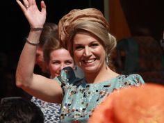 Koningsdag 2014, koning Willem-Alexander en koningin Máxima bezoeken De Rijp